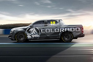 Supercars Breaking news Holden unveils Colorado SuperUte