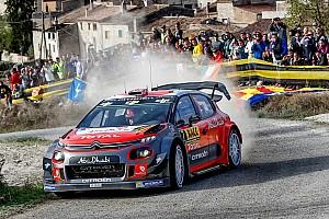 WRC Prova speciale Spagna, PS14: Meeke riparte alla grande. La C3 vola sull'asfalto
