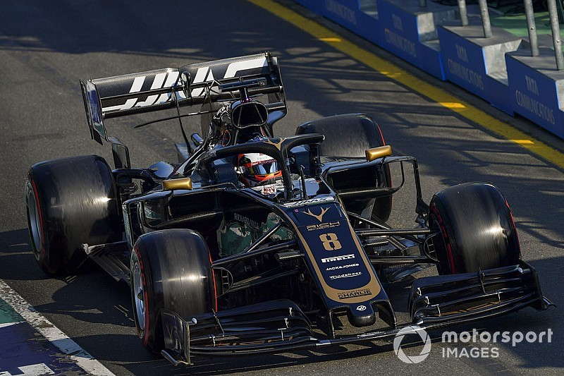 Wheelnut damage led to Grosjean's retirement