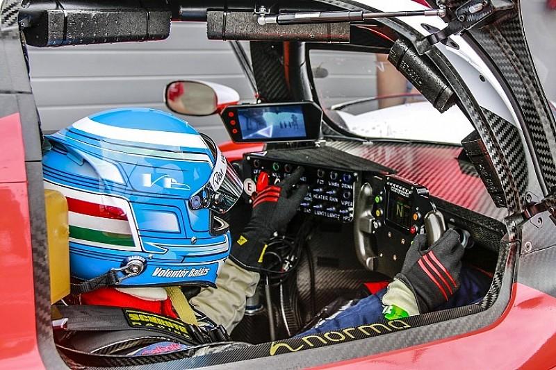 Sporttörténelem a Slovakiaringen: magyar versenyző tesztelt LMP-autót