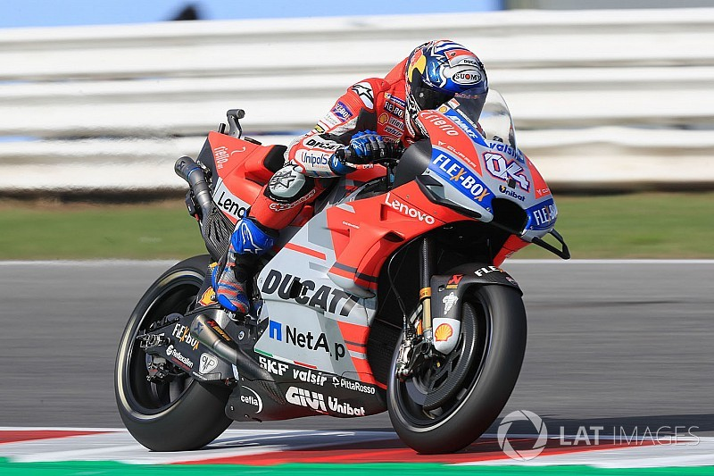FP2 MotoGP San Marino: Dovizioso tercepat lagi, Ducati 1-2