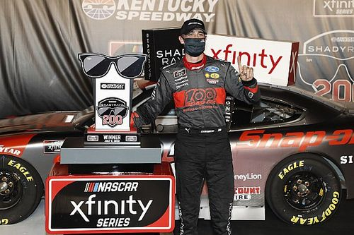 Austin Cindric earns first Xfinity oval win at Kentucky