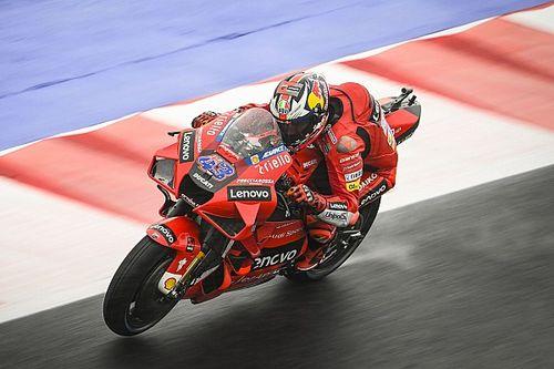 MotoGPエミリアロマーニャFP2:ジャック・ミラー、濡れた路面で速さ際立つ。クアルタラロ苦戦16番手