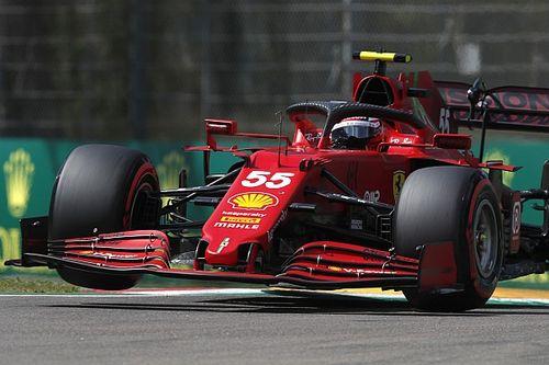 Ferrari Bakal Bikin Sainz Nyaman di GP Emilia Romagna