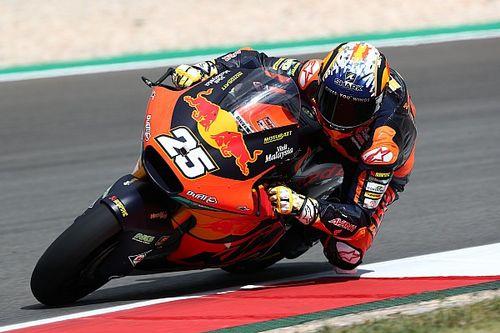 Fernandez pakt spectaculaire eerste Moto2-overwinning in Portimao