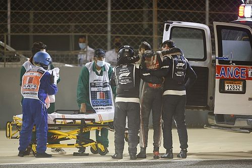 F1's medical car heroes tell the story of Grosjean's escape