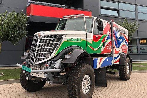 Scania na Dakar