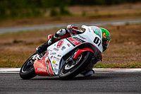 Honda NSF 250: Mikail wins historic first race for Moto3 bikes