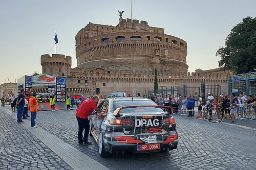ERC-CIR: Castel Sant'Angelo ancora partenza del Rally di Roma