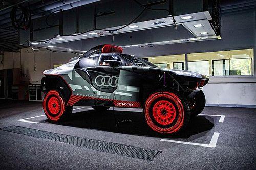Audi presenta el RS Q e-tron con el que quiere cambiar la historia del Dakar