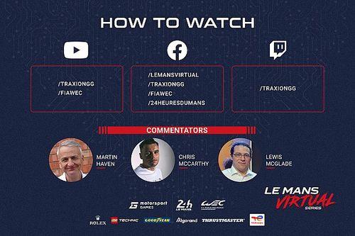 Смотрите в прямом эфире первый этап Виртуальной серии «Ле-Ман»