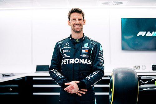 Grosjean probará un Mercedes F1 en el GP de Francia 2021