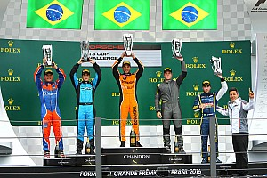 Porsche Relato da corrida Queirolo domina prova da Porsche GT3 Cup em Interlagos