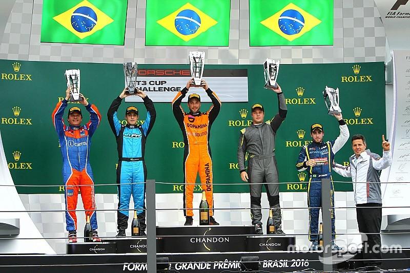Queirolo domina prova da Porsche GT3 Cup em Interlagos