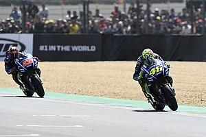 MotoGP Réactions Rossi :