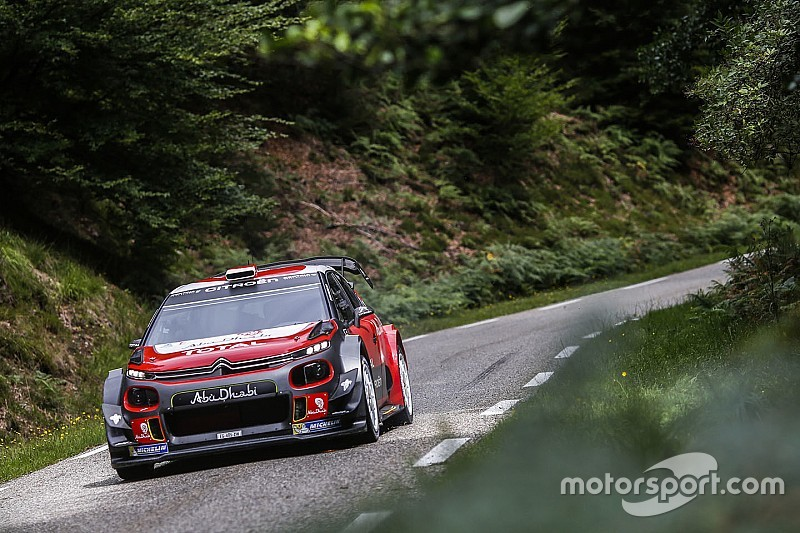 Le test de Loeb sur la C3 WRC en photos