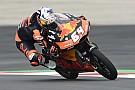 Moto3 P3 Bendsneyder in warm-up Oostenrijk, achter WK-rivalen Mir en Fenati