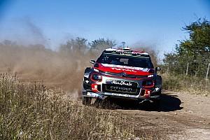 WRC Rapport d'étape Evans leader à mi-étape, les Citroën abandonnent