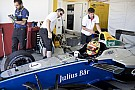 GALERI: Aksi Rio Haryanto di tes Formula E Valencia