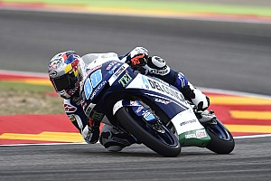 Moto3 予選レポート アラゴン予選:最終周にクラッシュ多発! マルティン転倒もPP確保