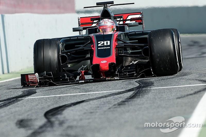 """Haas espera corregir los """"pequeños problemas"""" el martes"""