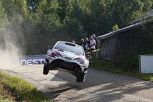 WRC Noticias de última hora Lappi lidera cómodamente en Finlandia
