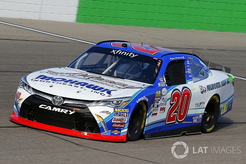 Ryan Preece scores first career NASCAR Xfinity victory at Iowa