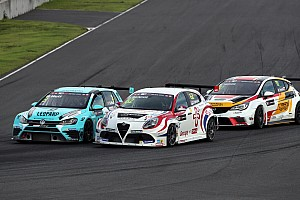 TCR Race report The Alfa Romeo Giulietta TCR by Romeo Ferraris back to the podium in Thailand