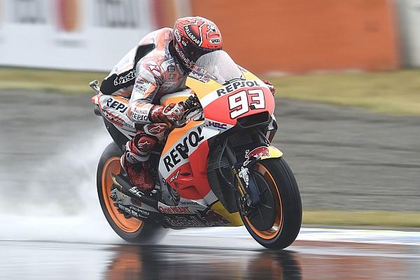 Гран Прі Японії: першу дощову практику виграв Маркес