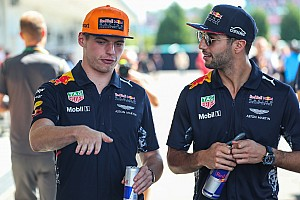 Ricciardo: No concerns about Verstappen favouritism at Red Bull