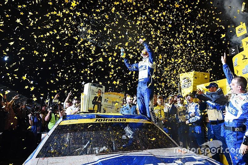Jimmie Johnson wins historic seventh NASCAR Sprint Cup championship