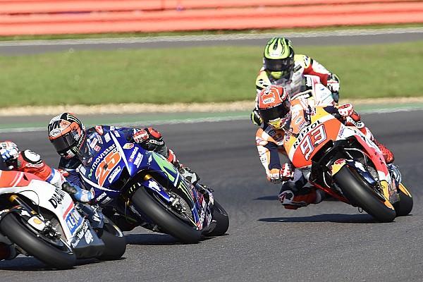 MotoGP Vinales hindari bencana besar saat mesin Marquez bermasalah