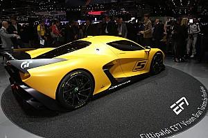 Automotive News Emerson Fittipaldi präsentiert neuen Supersportwagen EF7 in Genf 2017