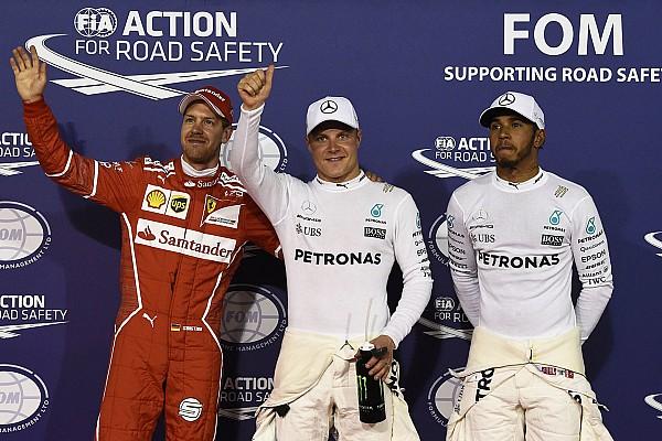 Hamilton és Bottas köre egymás mellett: Bahrein