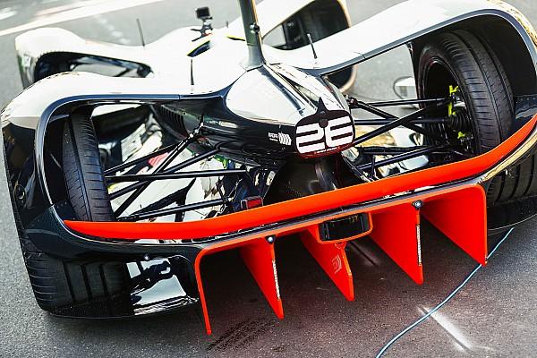Формула E Новость Состоялись первые публичные тесты гоночной беспилотной машины