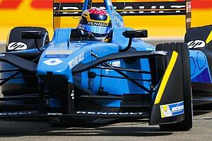 Formule E Verslag vrije training Formule E Berlijn: Renault e.dams kent vliegende start