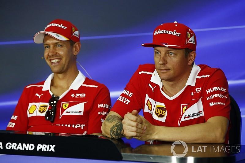 Vettel: Kimi é o melhor companheiro de equipe que já tive