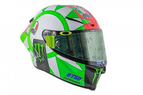 Rossi dévoile un casque spécial aux couleurs de l'Italie
