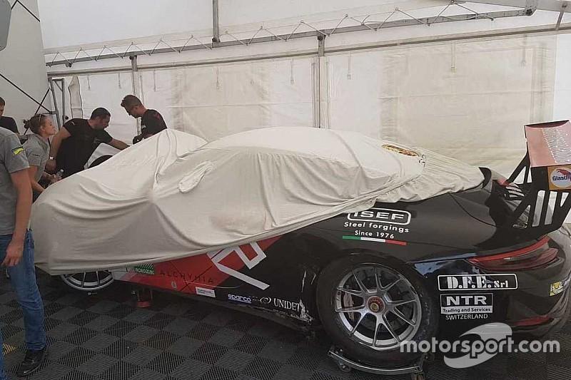 Carrera Cup Italia, Monza: per Iaquinta arriva l'esclusione dall'evento