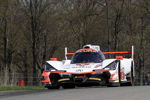 Mid-Ohio IMSA: Acuras dominate third practice