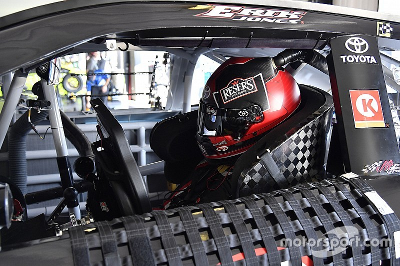 Erik Jones lidera la primera práctica en Watkins Glen