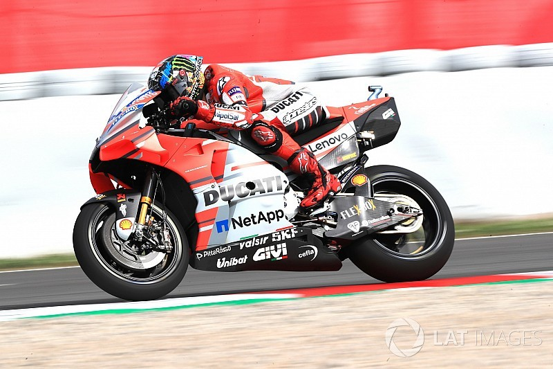 Barcelona MotoGP: Lorenzo tops FP2 as Marquez crashes