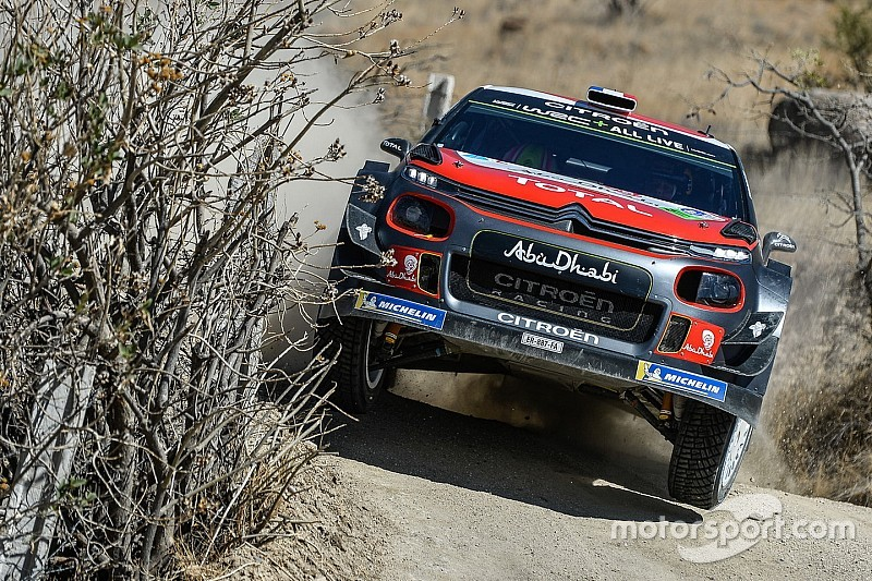Mexico WRC: Loeb steals lead from Sordo