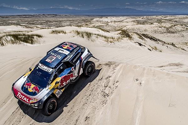 Dakar Breaking news Sainz has penalty rescinded for Dakar quad incident