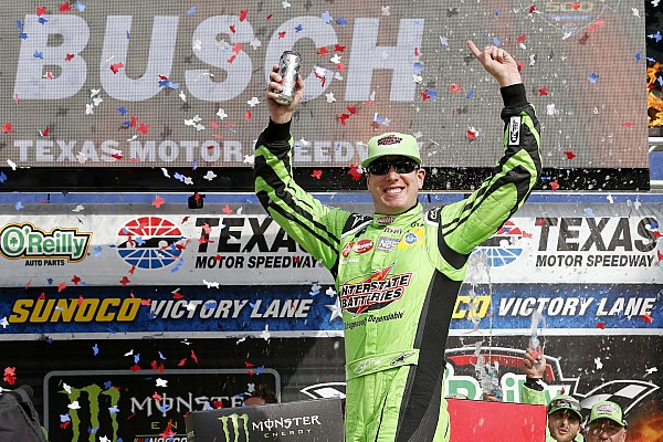 NASCAR Cup Kyle Busch relieved to see this season's hard work rewarded