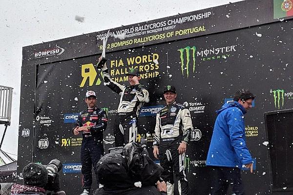 World Rallycross Yarış raporu RX Portekiz: Karlı mücadeleyi Kristofersson kazandı!