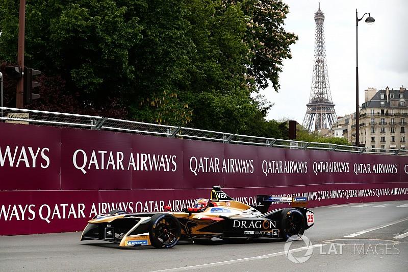 Вернь выиграл гонку Формулы Е в Париже