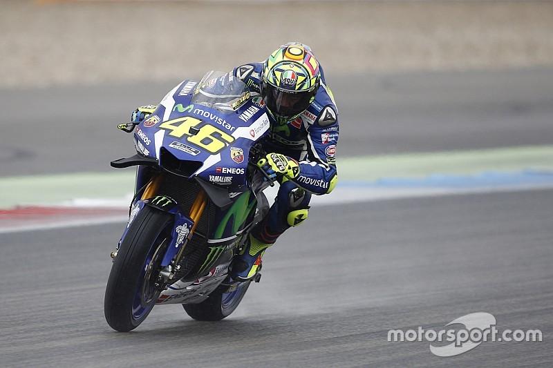 """Michelin """"отстает от графика"""" с дождевой резиной MotoGP, считает Росси"""
