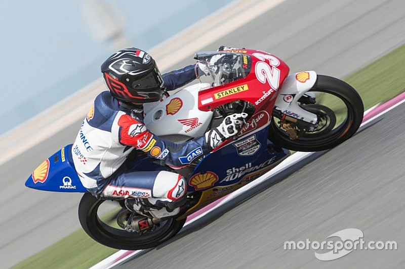 Qatar Asia Talent Cup: Yanseen continues his learning curve
