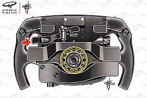 Vettel'in direksiyonundaki 3. pedalın sırrı ne?